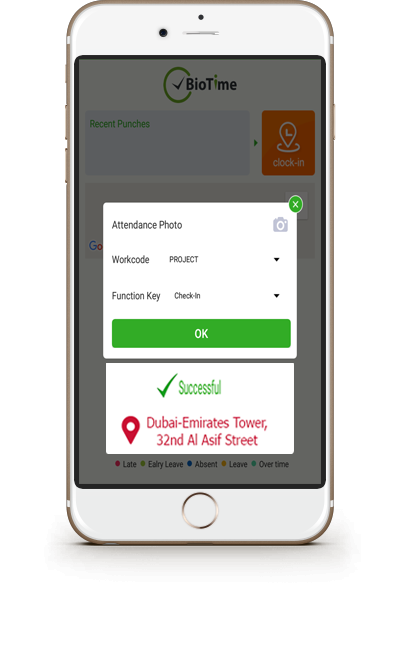 GPS Mobile Attendance App for Employees in Dubai UAE