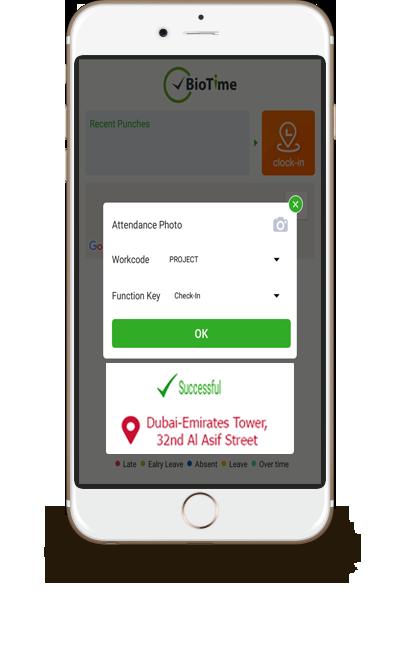 GPS Mobile Attendance App for Employees in Dubai UAE